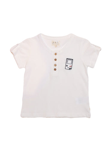 Tee Shirt POLO Milky White Game Boy T-Shirt LPC les Petites Choses