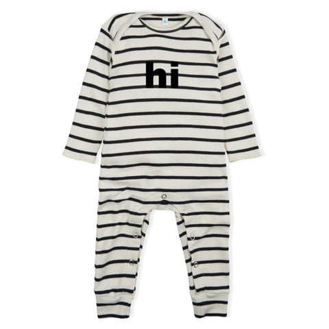 Playsuit bunny grey organic zoo