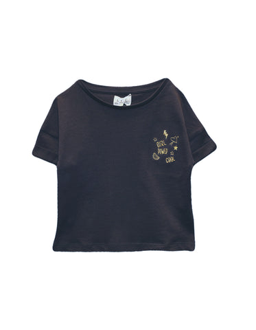 Top TORRY Ciment / Embroidery Graffitis LPC Les Petites Choses