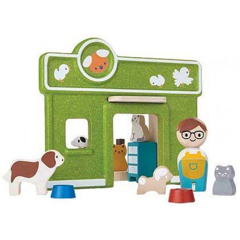 Dierenarts Set Pet Care Plan Toys
