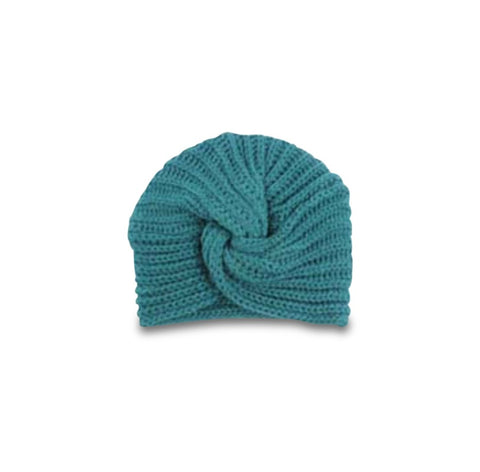 Crochet Turban Hat Petrol - Cos I Said So