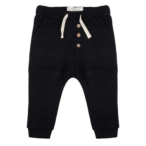 Broekje Basic Black - Little Indians