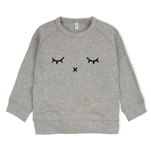 Sweater Organisch Katoen Sleepy Grey Organic Zoo