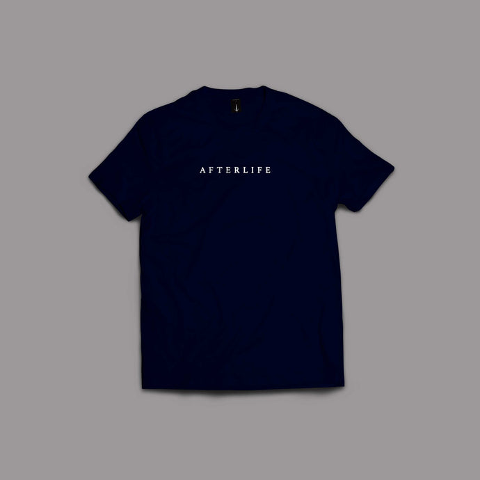 Afterlife T-Shirt Navy Blue