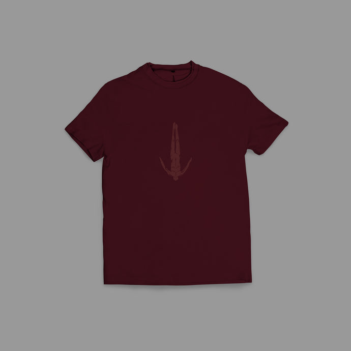 Afterlife T-Shirt Bordeaux Red