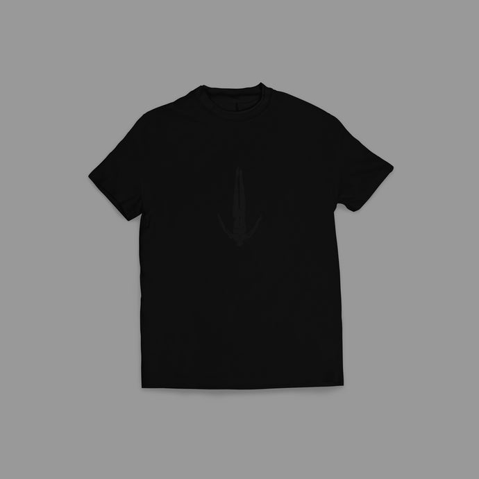 Afterlife T-Shirt Shiny Black