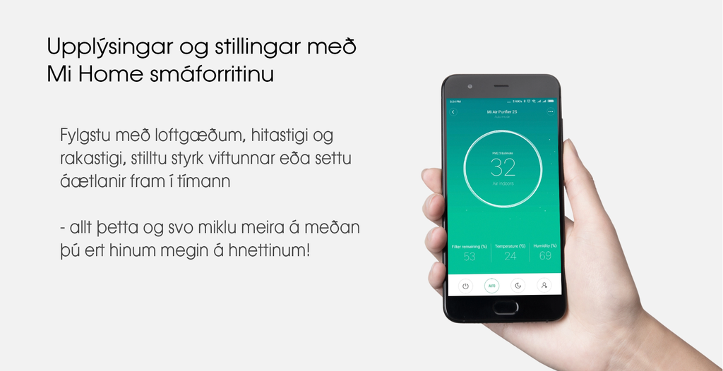 Mi Air Purifier 2S - Mi Home App