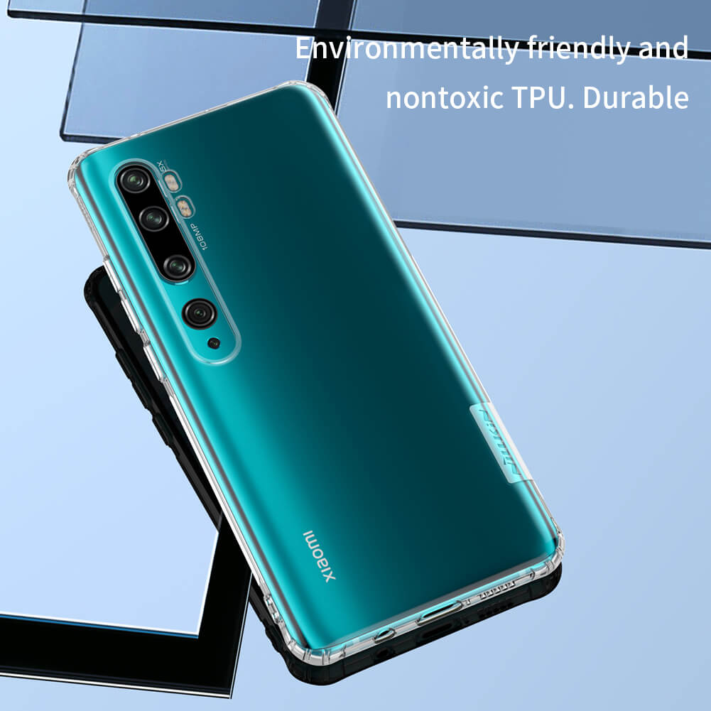 Mi Note 10 Nature TPU hulstur