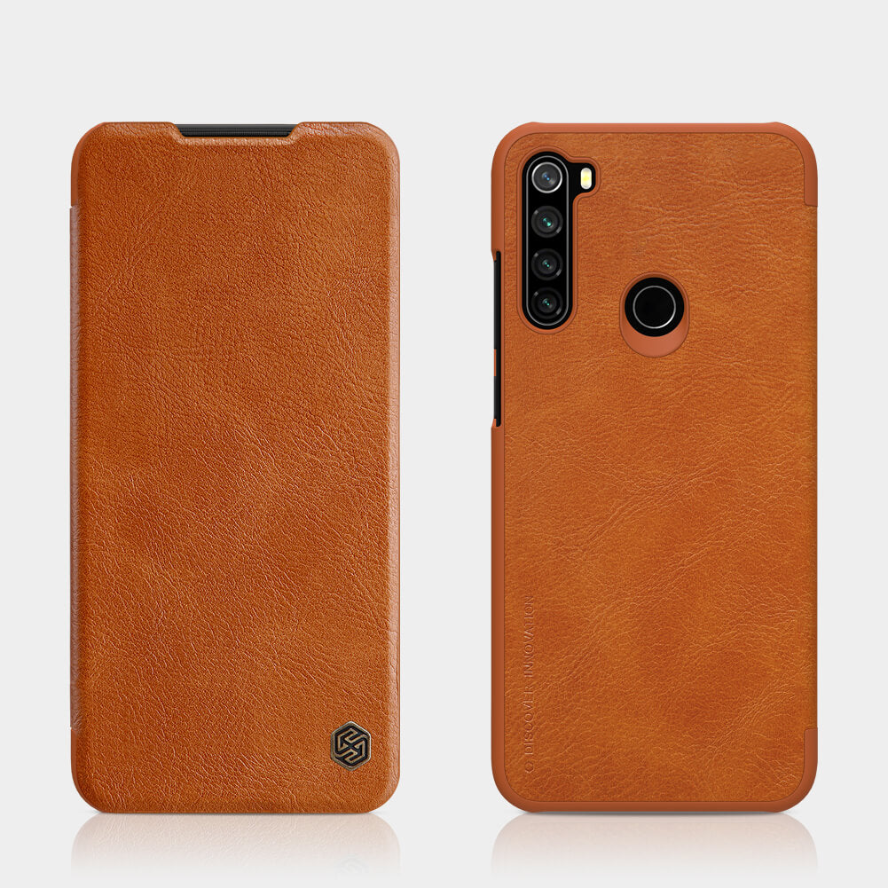 Redmi Note 8T Qin Leather leðurhulstur