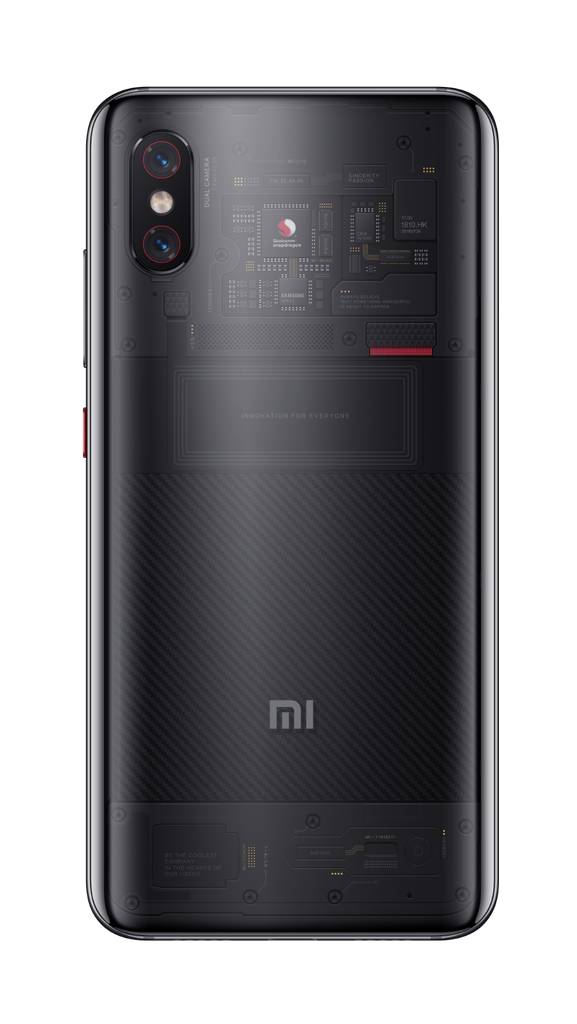 Mi 8 PRO - transparent background