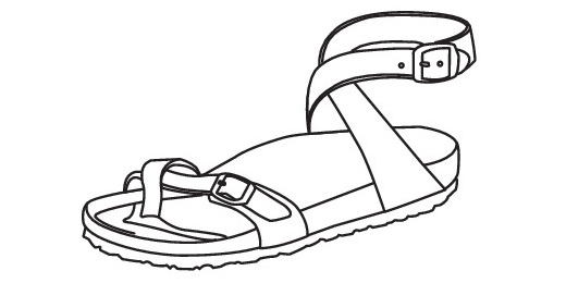 More Sandal Models