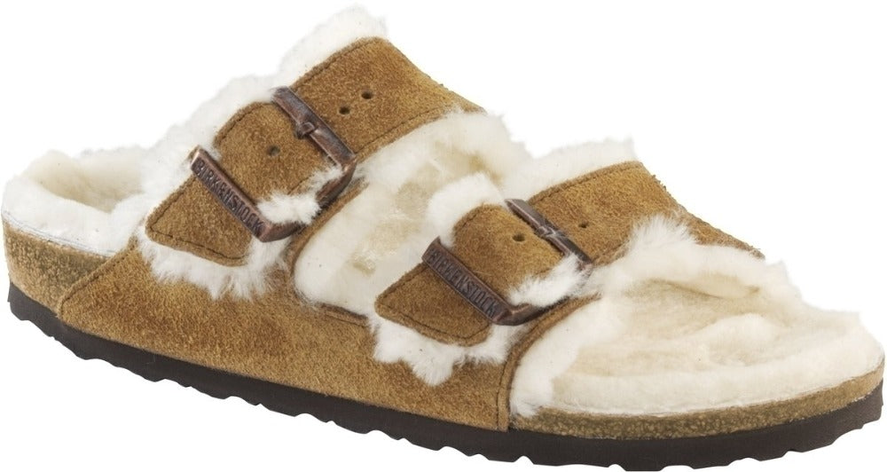 Arizona - Mink Suede Shearling