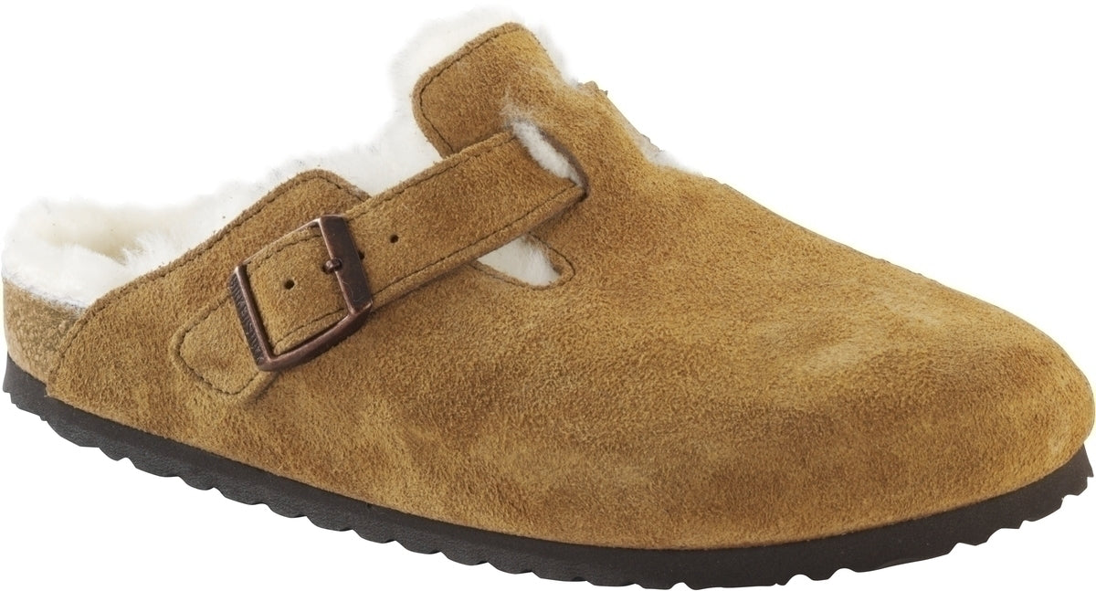Boston - Mink Suede Shearling