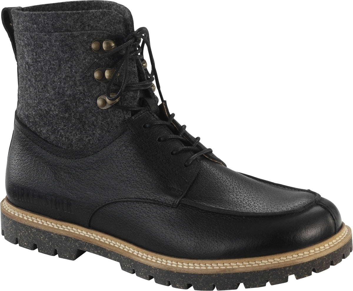 Timmins-High - Black Leather