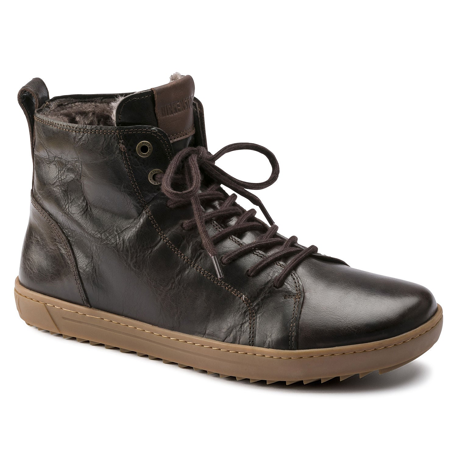 Bartlett Men - Aviator Mocha Leather Shearling