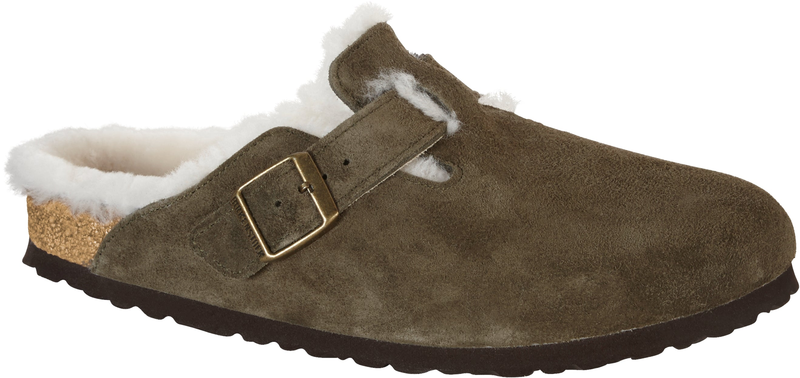 Boston - Forest Suede Shearling