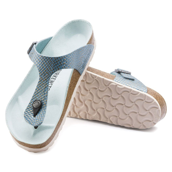 Gizeh Mermaid Aqua Leather My Birkenstock Shop
