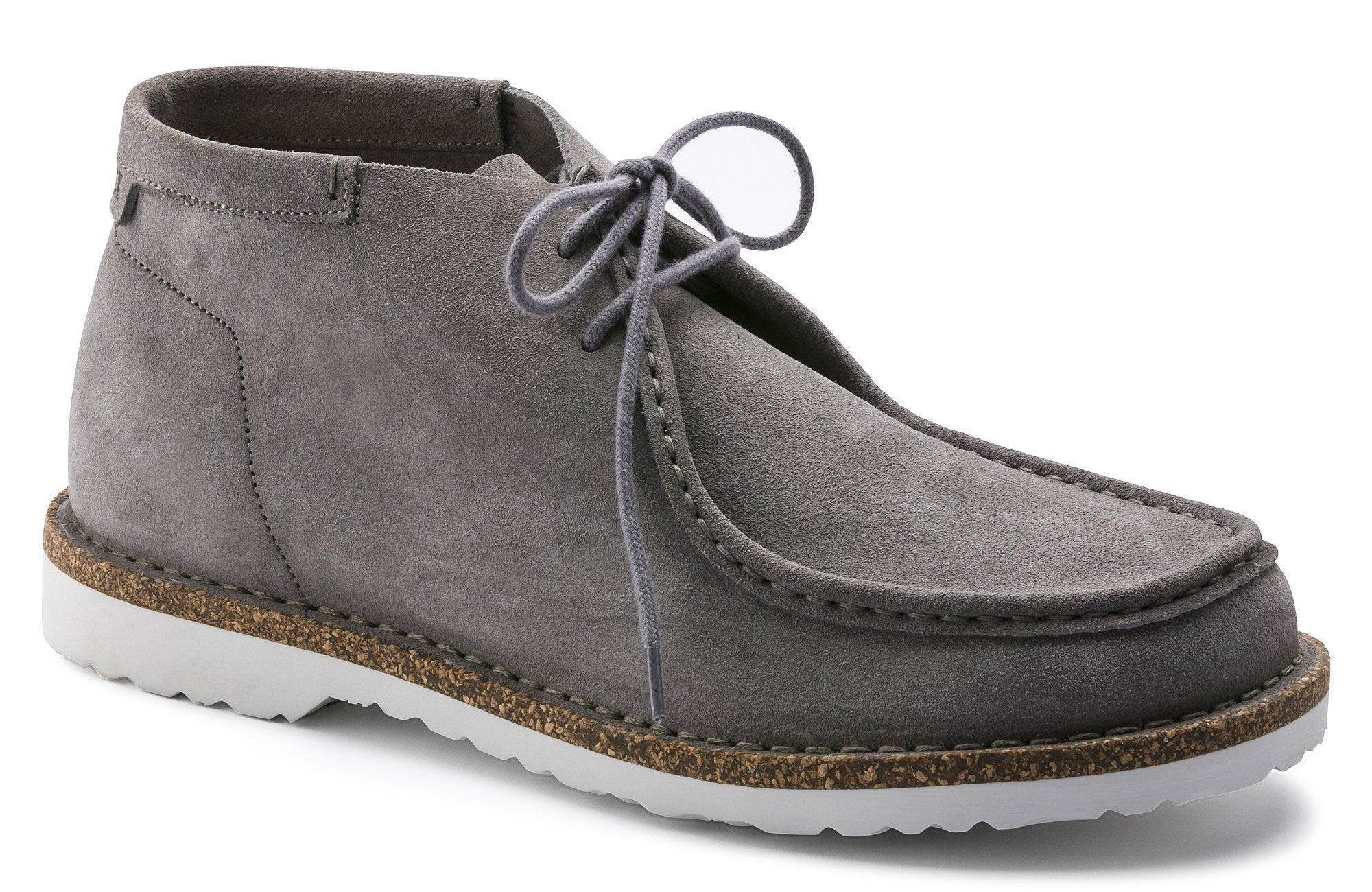 Delano High Men - Grey Suede