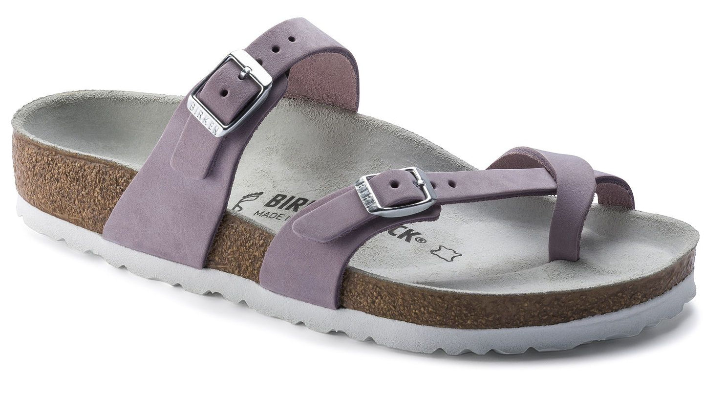 Mayari - Lilac Nubuck Leather