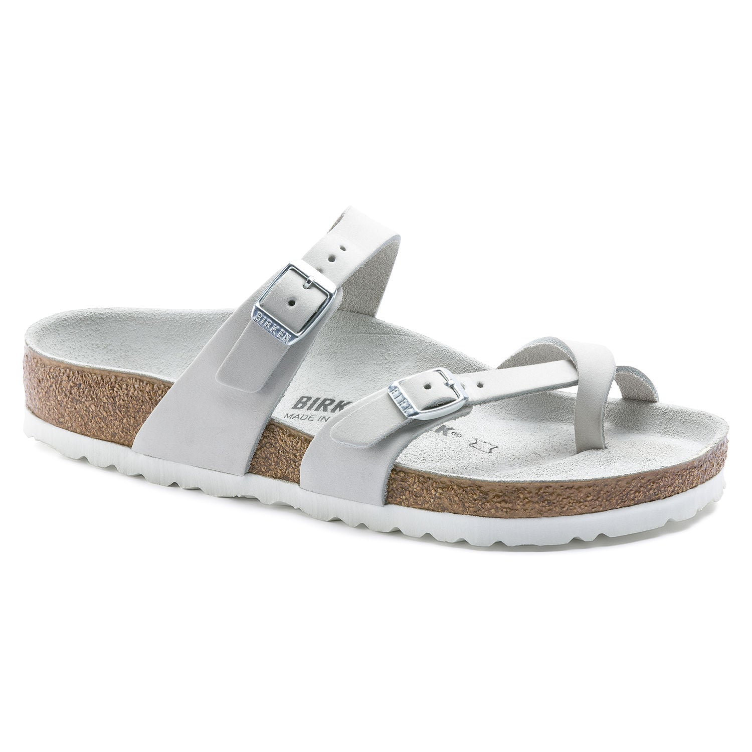 Mayari - White Nubuck Leather