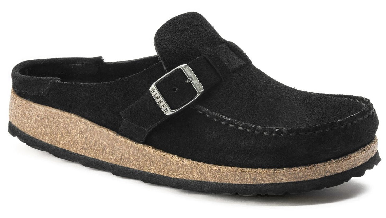 Buckley - Black Suede