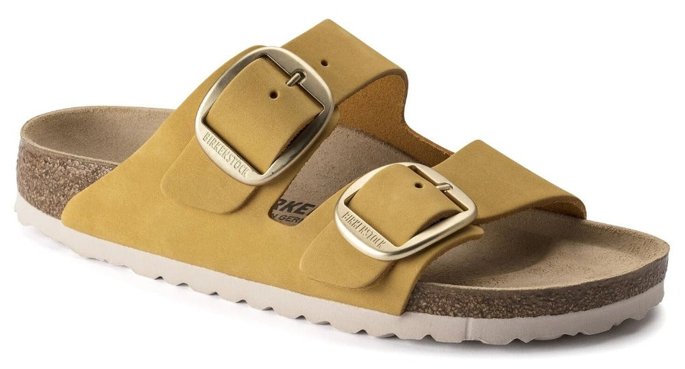 Arizona Big Buckle - Ochre Nubuck