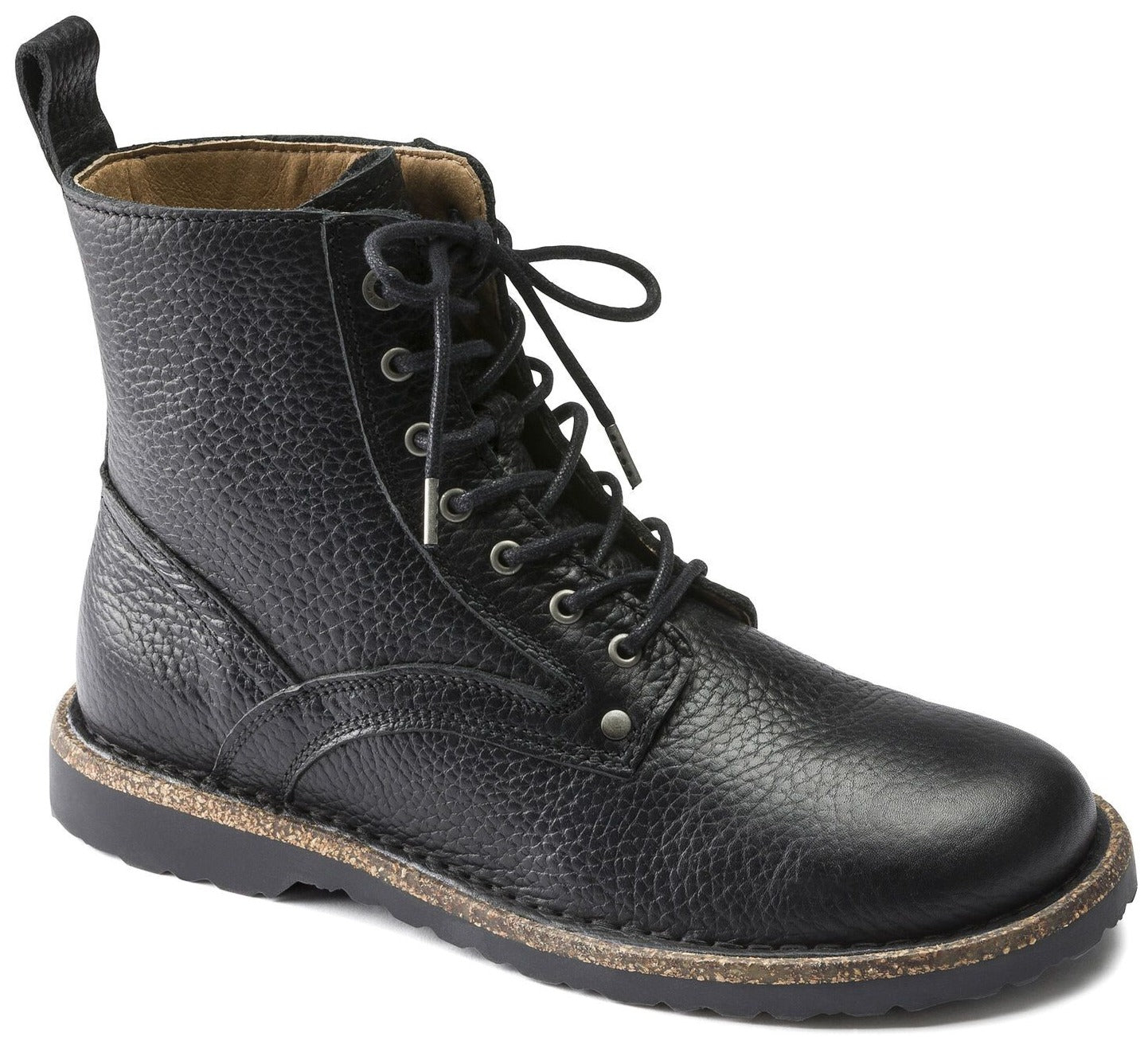 Bryson Men - Black Leather