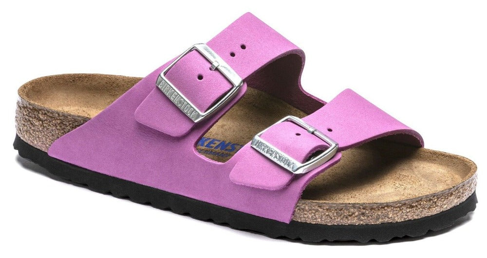 Arizona Soft - Purple Orchid Nubuck Leather