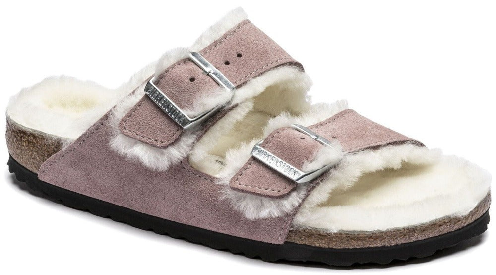 Arizona - Lavender Blush Suede Shearling