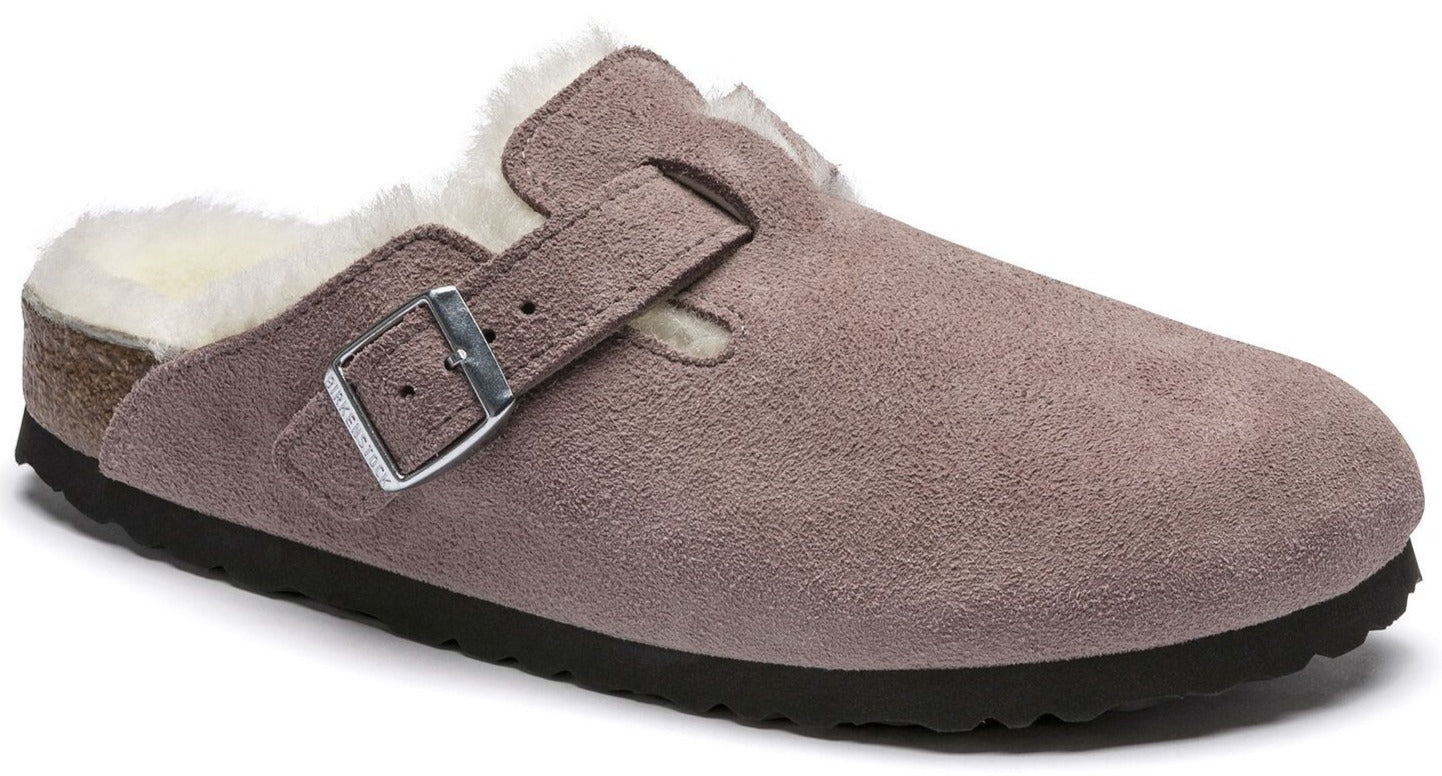 Boston - Lavender Blush Shearling Suede