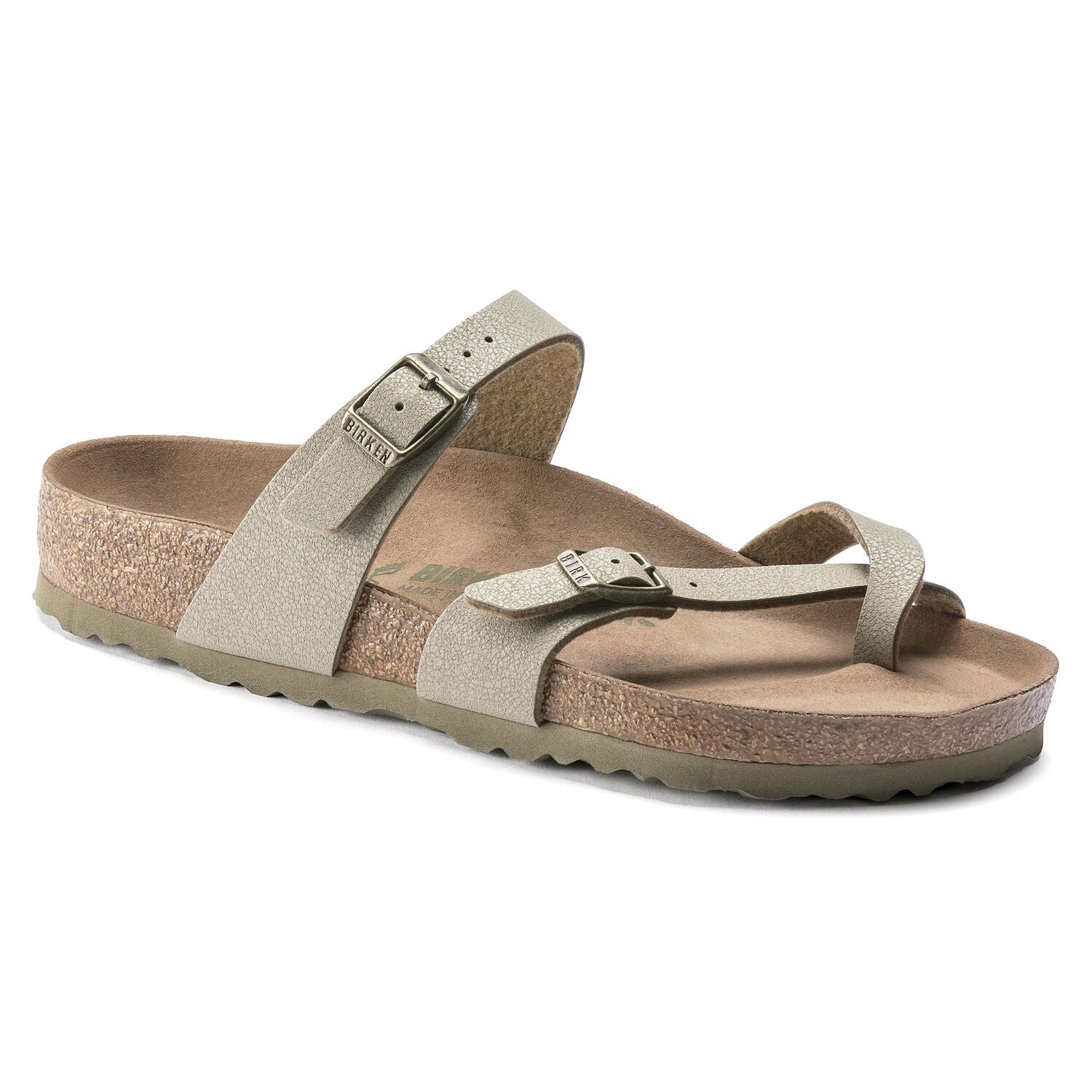 Mayari Vegan - Earthy Faded Khaki Birko-Flor