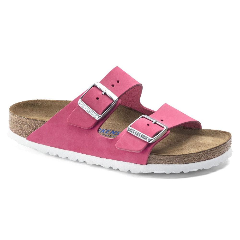 Arizona Soft - Fushia Tulip Nubuck Leather