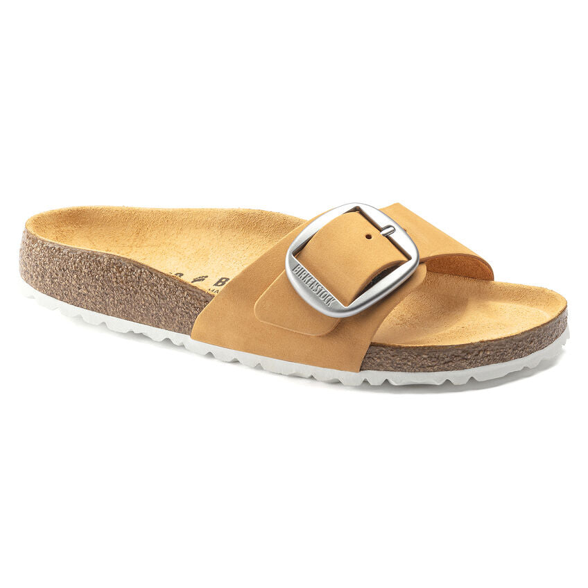Madrid Big Buckle - Apricot Natural Leather