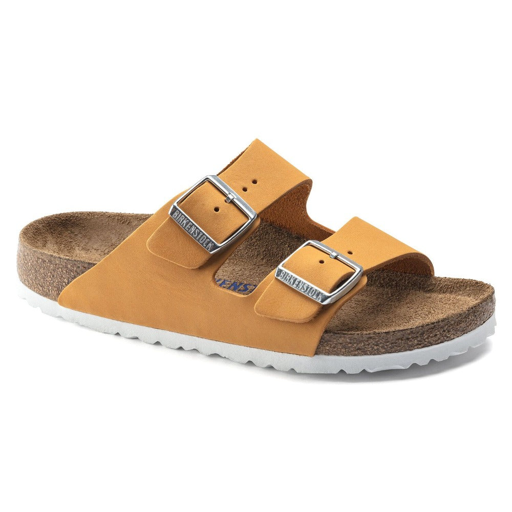 Arizona Soft - Apricot Nubuck Leather