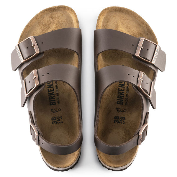 Milano Dark Brown Birko Flor My Birkenstock Shop