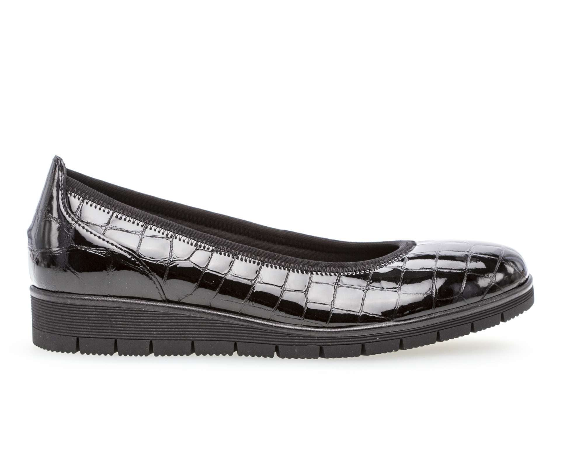 95340.87 - Ballerinas Reptile Leather Black