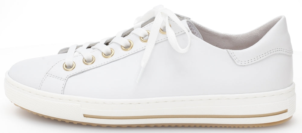 46515.50 - White Leather