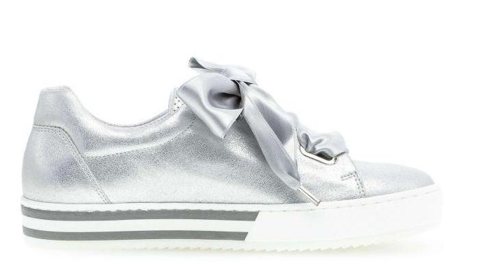 26505.61 - Metallic Silver Leather