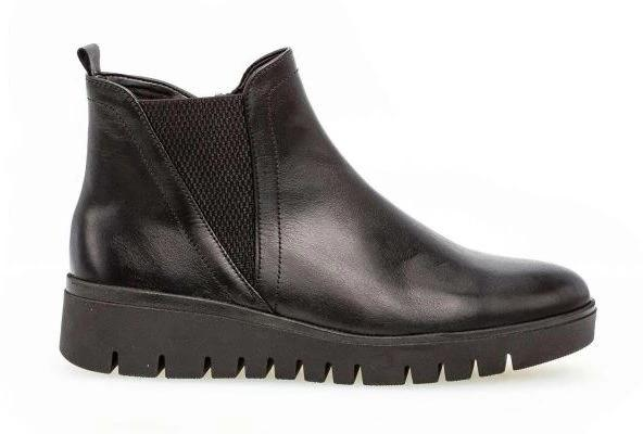 32.851-57 - Chelsea Boots Smooth Leather Black