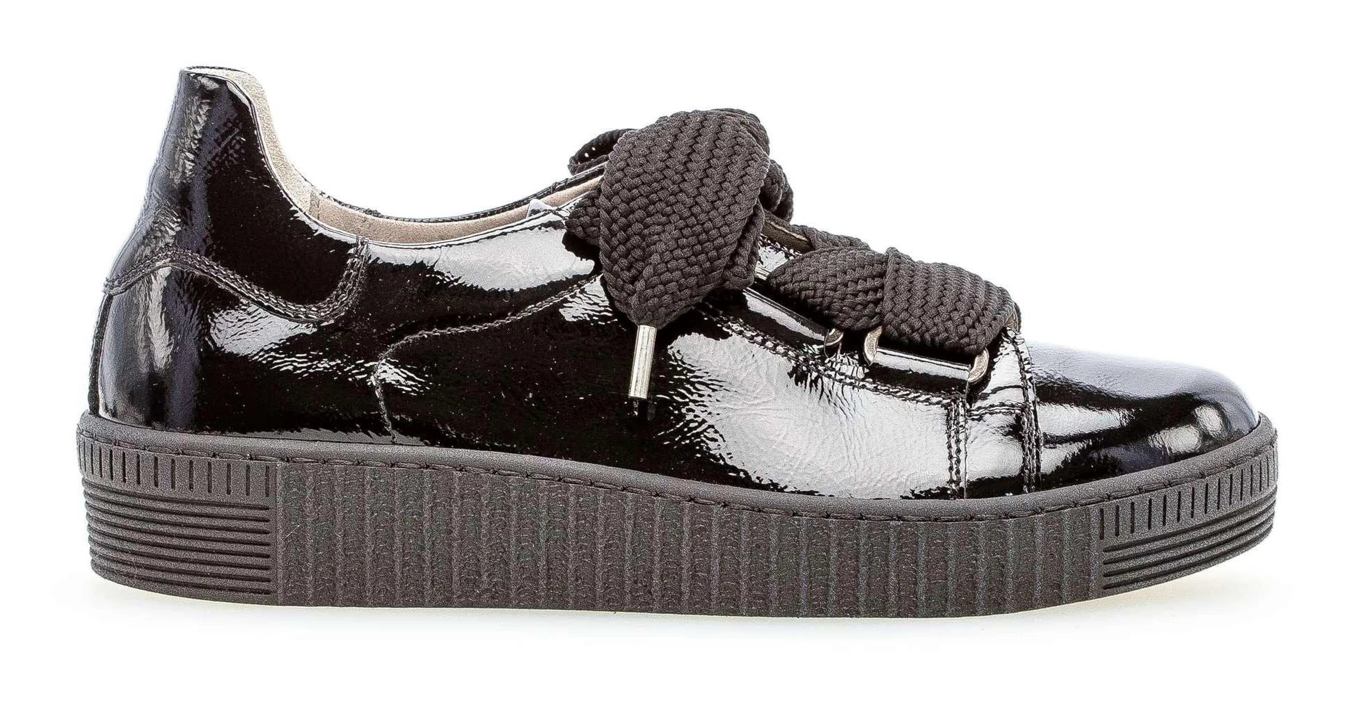 33.330-97 - Sneaker Low Lace Patent Leather Black