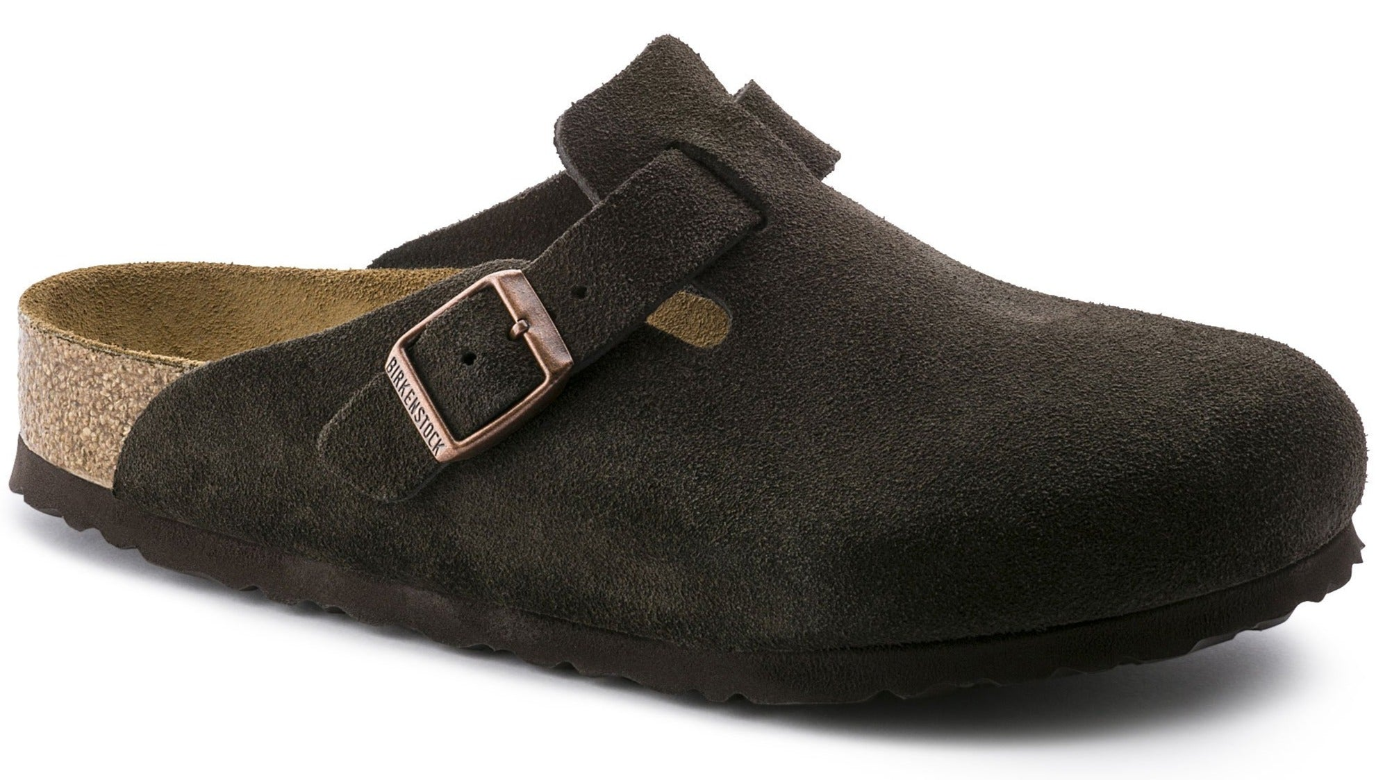 Boston Soft - Mocha Suede