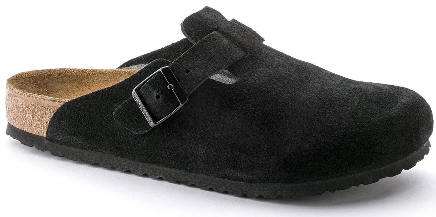 Boston Soft - Black Suede
