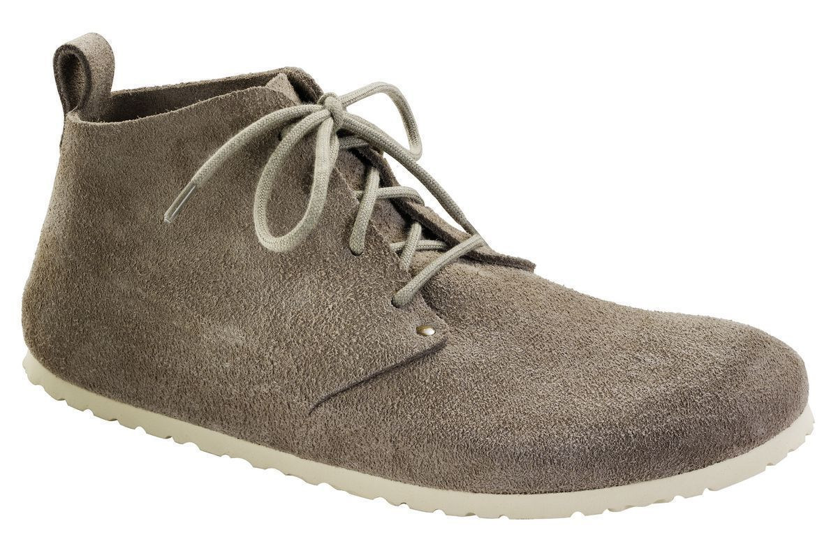Dundee - Taupe Suede Leather