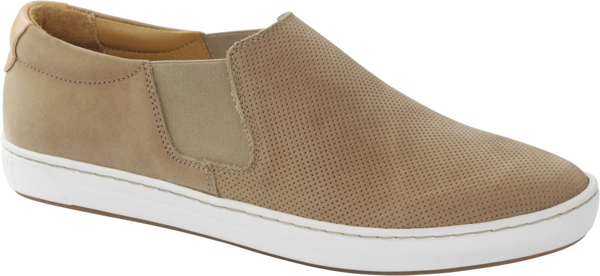 Barrie - Sand Nubuck Leather