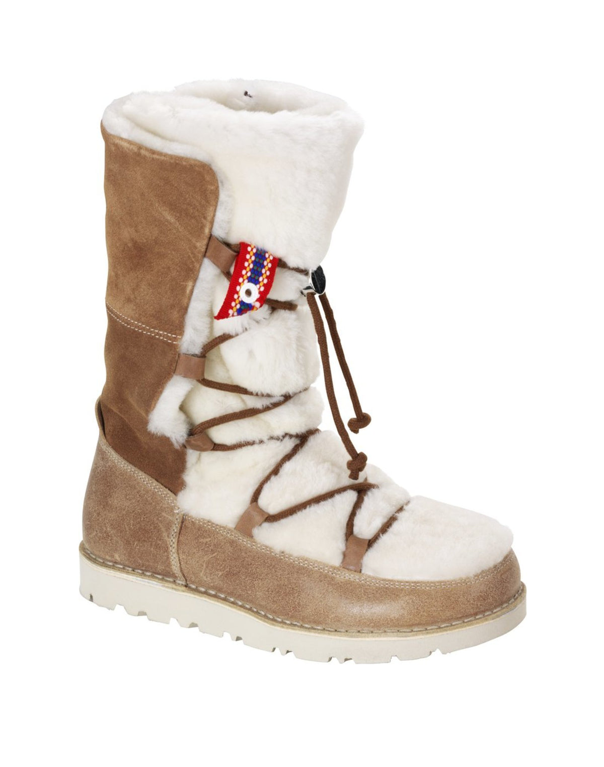 Nuuk - Nut Suede Shearling