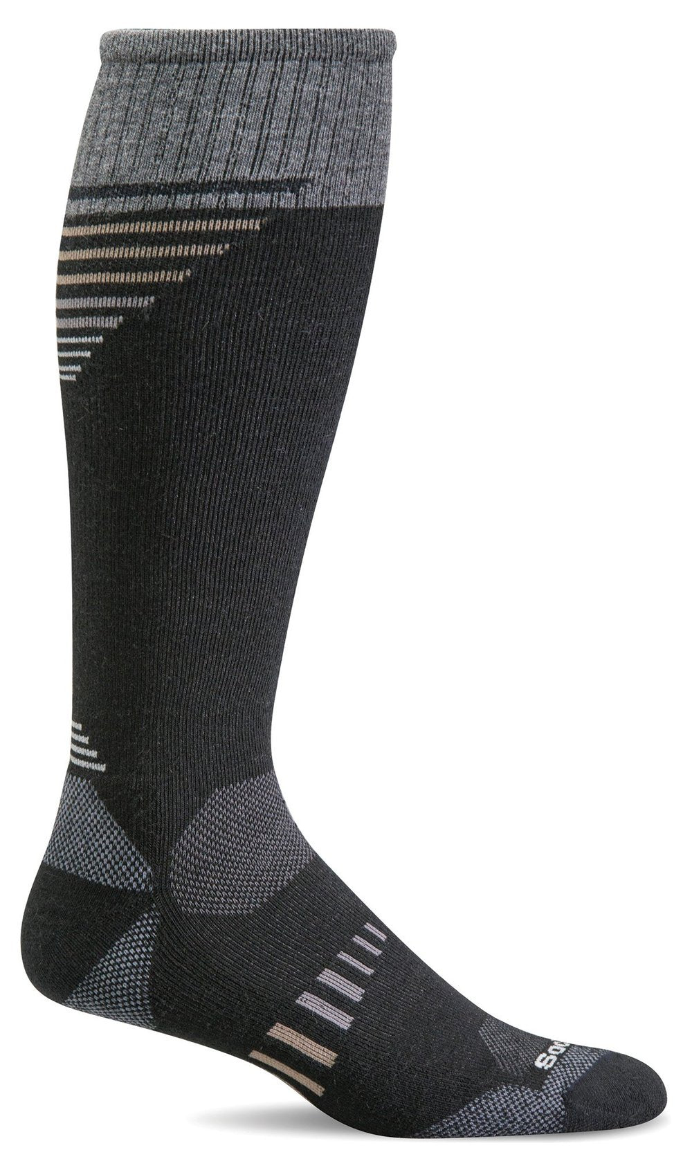 Ascend II OTC Knee-High - Black Moderate Compression (15-20mmHg)