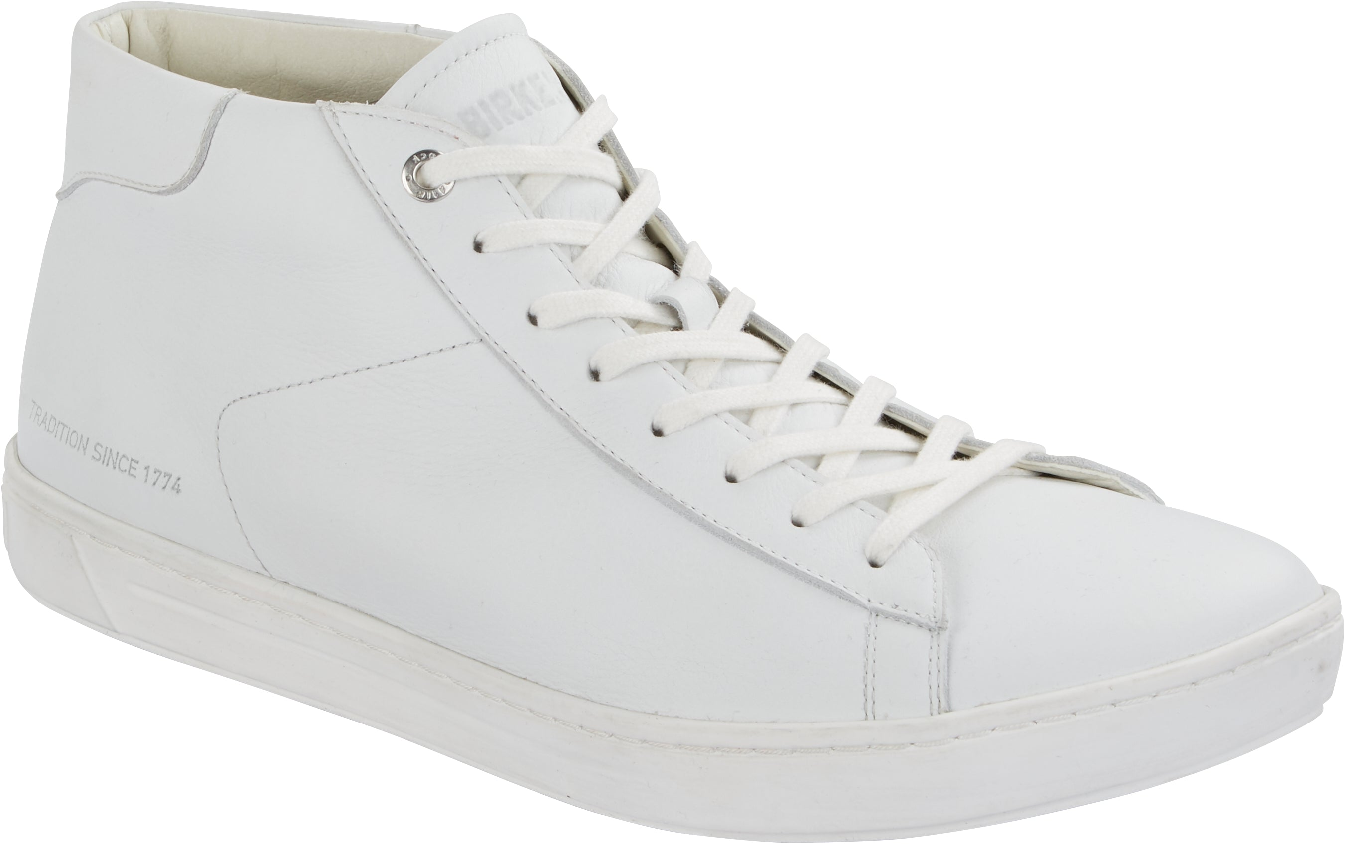Levin Mid Women - White Leather