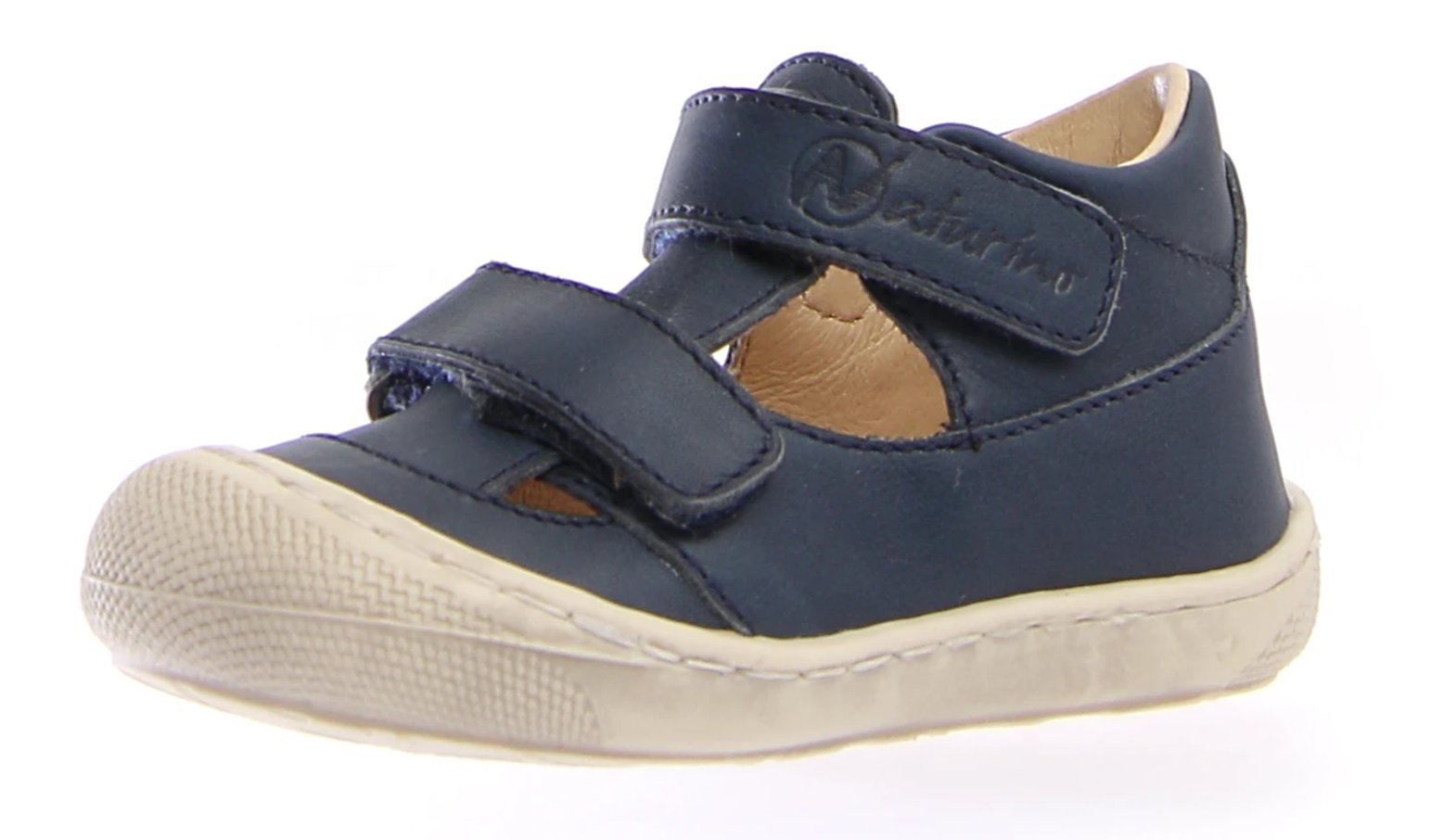 Puffy - Navy with White sole