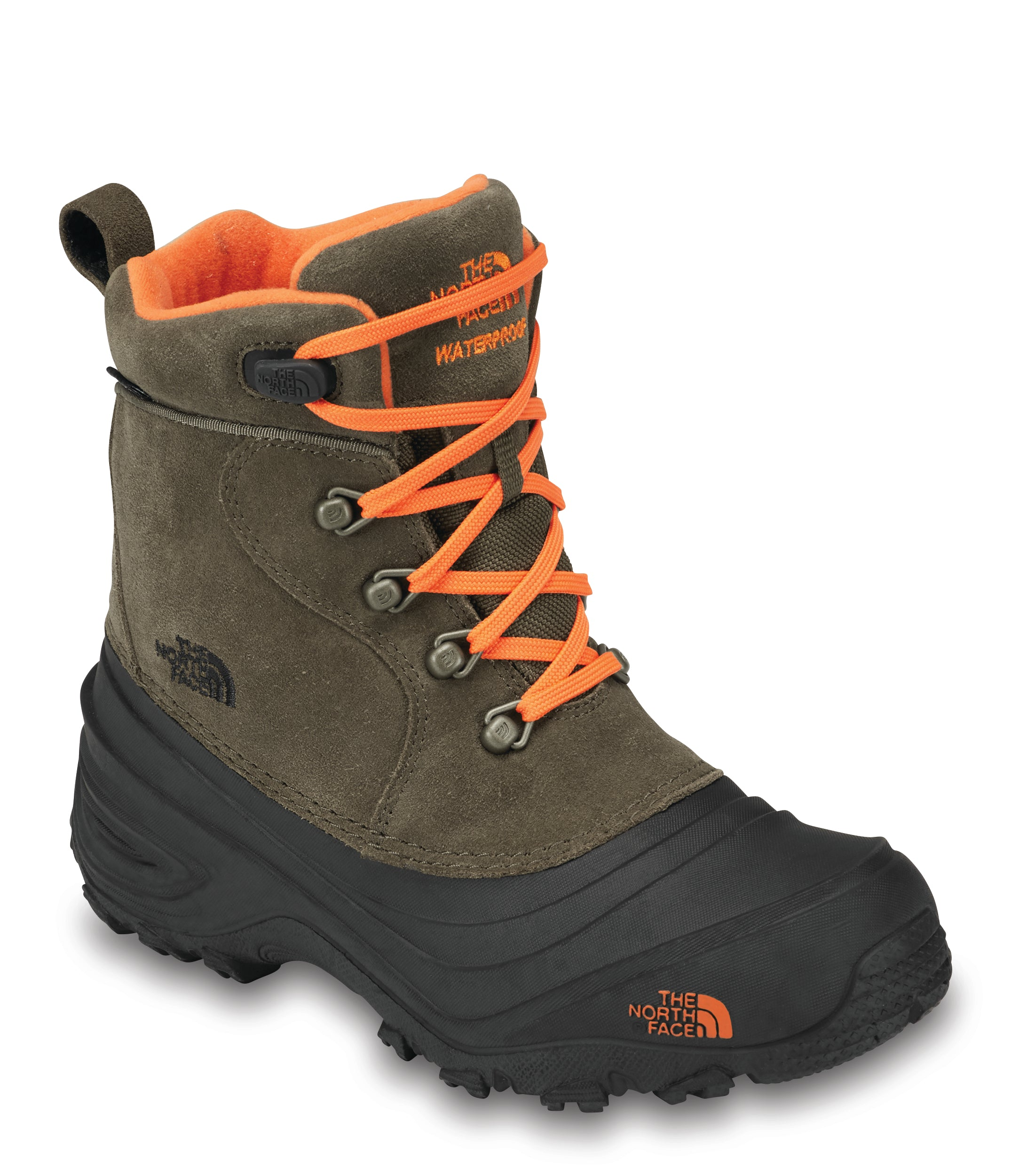 Youth Chilkat Lace II - Tarmac Green/ Sarlet Ibis