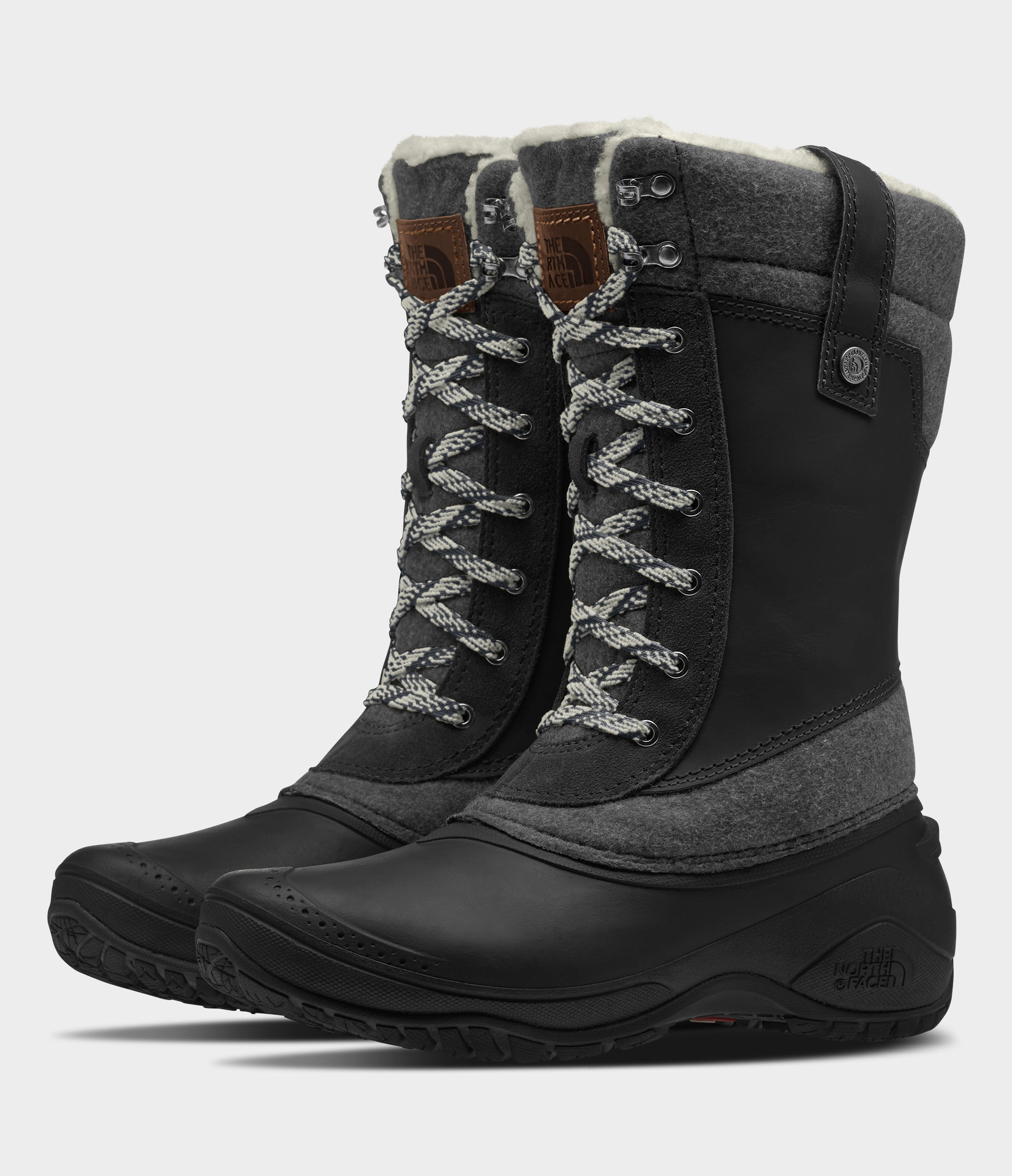Women's Shellista III Mid Vanadish Grey / TNF Black